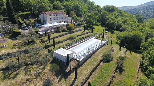 Guest house grasse provence alpes-maritimes cannes Nice Antibes smiming-pool le relais du peyloubet 2