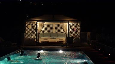 relais du peyloubet pool house the night